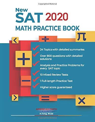 New SAT 2020 MATH PRACTICE BOOK