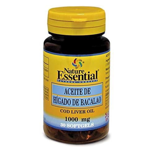Nature Essential Aceite de Hígado de Bacalao - 30 Cápsulas