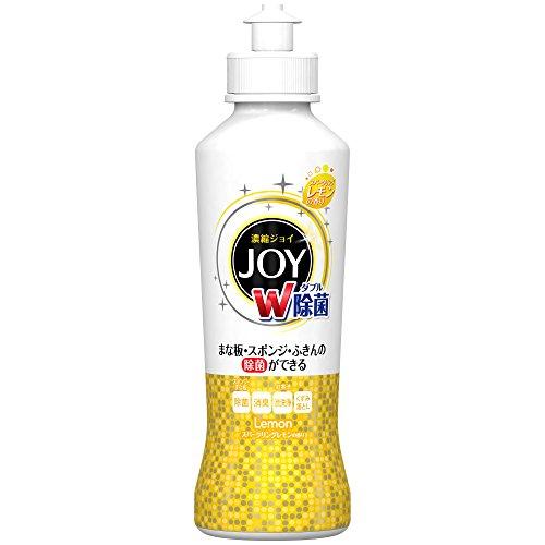 除菌ジョイ コンパクト 食器用洗剤 スパークリングレモンの香り 本体 190ml