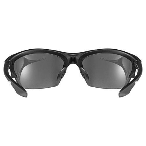 Uvex Unisex Blaze III Sportbrille, One Size, black mat - 4