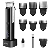 Hair Clippers for Men, WONER Clippers for Hair Cutting, Rechargeable Cordless Hair Trimmers with Charging Stand, Hair Cutting Kits for Family