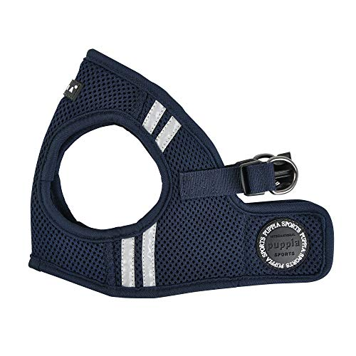 Puppia Soft Vest Harness Pro - Navy - L
