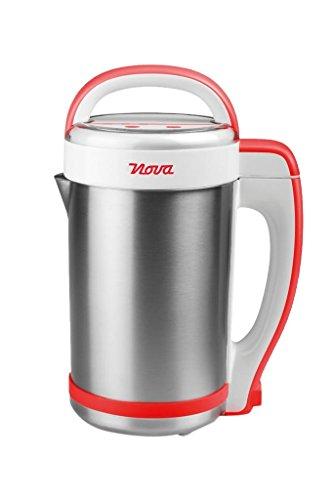 Nova 210300 - Licuadora y máquina para hacer sopa, batidos o salsas, capacidad 1.3 L, 200 W, acero inoxidable, completamente automática