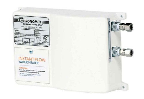 Chronomite SR-15L/120 HTR 120-Volt 15-Amp SR Series Instant-Flow Low Flow Tankless Water Heater