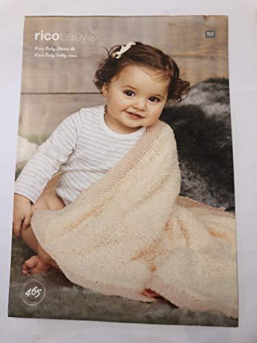 Rico Baby Knitting Pattern 465- Baby Bl