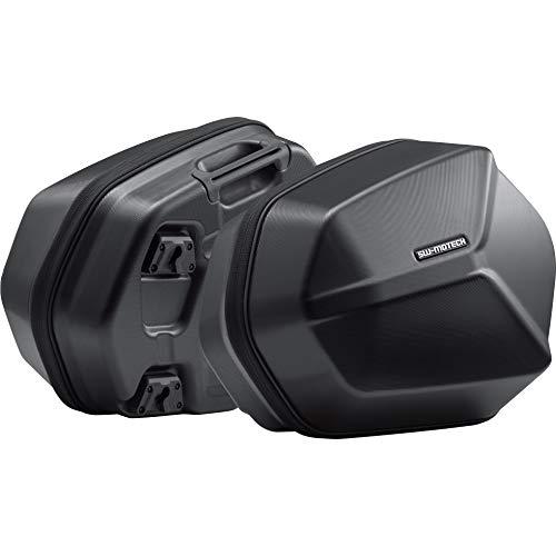 SW-MoTech Motorrad-Satteltaschen Aero Seitenkofferpaar ABS für Quick-Lock Evo Träger Satz, Unisex, Multipurpose, Ganzjährig, Kunststoff