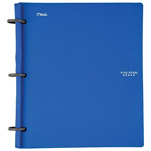 Five Star Flex NoteBinder - 1 Inch Capacity, 11.5 x 11 Inches, Notebook and Binder All-in-One - 2 Pack - Multi Colored Photo #3