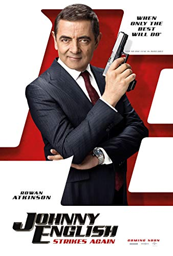 Poster Johnny English Strikes Again Movie 70 X 45 cm