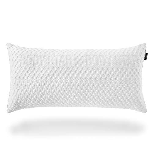 Body-Star Pillow Comfort line Kopfkissen TÜV Zertifiziert Innovative Hightech Polyesterfüllung 80x40 cm für alle Liegetypen geeignet Oeko-TEX 100