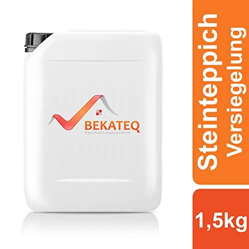 BEKATEQ Versiegelung Steinteppich BK-630EP 2K Epoxidharz - transparent - 1,5kg