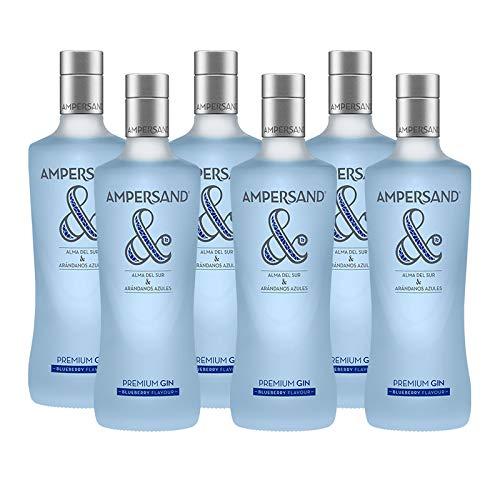 Gin Ampersand Blaubeeren 70 cl - Bodegas Osborne (6 Flaschen)