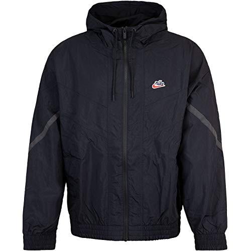 Nike Heritage Windrunner Jacke (XL, black)