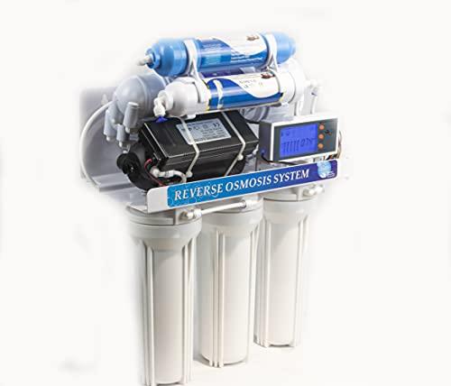 DC Solution DC-RO3007 - Purificador de agua para ósmosis inversa de 7 etapas de filtro para casa, purificador de agua potable
