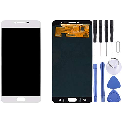 CAPOOK -LCD Display + Touch Panel for Galaxy C7 / C7000(Black) DIY (Color : White)