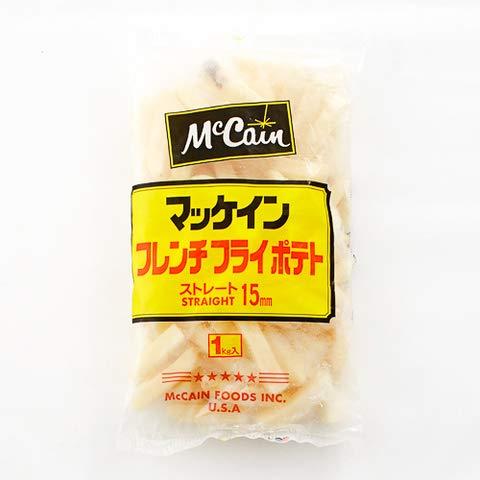 ストレートカット15mm 1kg 【冷凍・冷蔵】 3個