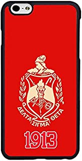Case for iPhone 6 Plus, Delta Sigma Theta Case for iPhone 6S Plus (5.5 inch), DST-003, Sorority Cell Phone Protective Cover for Women