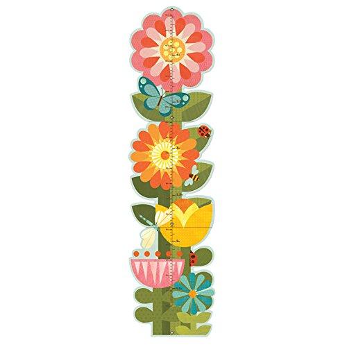 Petit Collage Tableau de croissance pliable | Fleurs de jardin