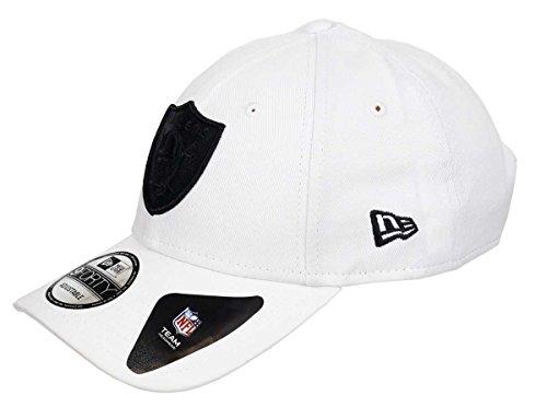 New Era Oakland Raiders 9forty - Gorra ajustable (talla única), color blanco