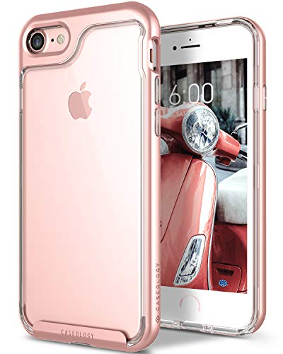 Caseology Skyfall for Apple iPhone 8 Case (2017) / for iPhone 7 Case (2016) - Clear Back & Slim Fit...