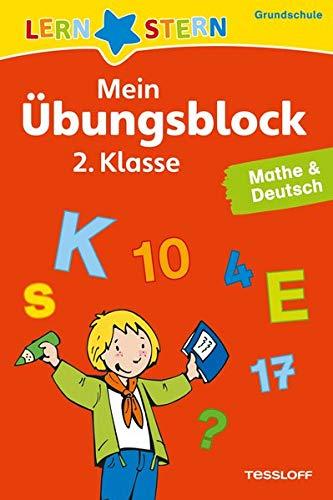 LERNSTERN Mein Übungsblock 2. Klasse. Mathe & Deutsch