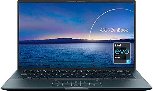 "ASUS ZenBook 14 Ultralight UX435EAL-KC096T - Portátil de 14"" Full HD (Intel Core i7-1165G7, 16GB RAM, 512GB SSD, 32GB Intel Optane, Intel Iris Xe Graphics, Sin SO) Gris Pino - Teclado QWERTY español"