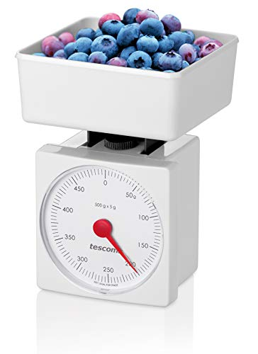 Tescoma Accura Bilancia da Cucina, Bianco, 0.5 kg