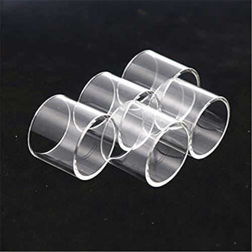 5 stücke Glas Tube Fit für Joyetech Kubox Fit für Cubis 2 Procore Air 22 25 Plus Evic VTC Dual Ornate Panzer Ego AIO Fit für Joye Eco D16 (Größe : Fit for EVic VTC Dual 4ML)