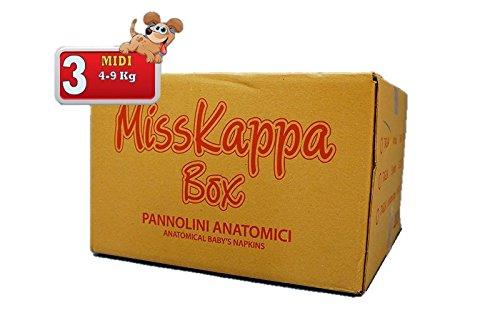 225 Pannolini MissKappa Formato Box taglia 3