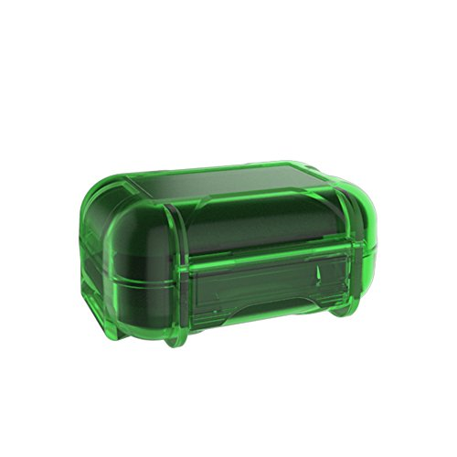 KZ ABS Hard-Sided Multifunction Protective Case for Earphones, In-Ear Monitors, Eartips (Green)