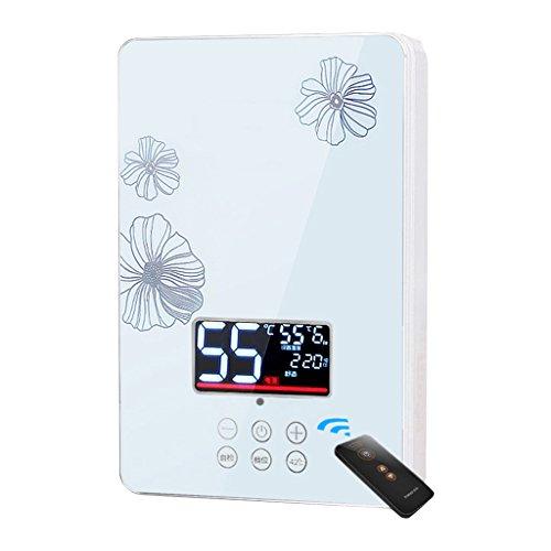 Everyday home Elektrischer Warmwasserbereiter Sofortiger Duschpaneelsystem-Installationssatz Durchlauferhitzer 6KW 220V Das ist heißer Typ Wandmontierter elektrischer Warmwasserbereiter für Badezimmer