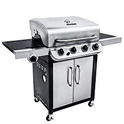 "Char-Broil Performance 475 4-Burner Cabinet Liquid Propane Gas Grill- Stainless. <a href=""https://www.amazon.com/gp/product/B01HIFRBMY/ref=as_li_qf_asin_il_tl?ie=UTF8&amp;tag=ris15-20&amp;creative=9325&amp;linkCode=as2&amp;creativeASIN=B01HIFRBMY&amp;linkId=1b2fadc3de52d09e21402f89ed605255"" target=""_blank"" rel=""nofollow noopener""><span style=""text-decoration: underline; color: #0000ff;""><strong>Buy it on Amazon today.</strong></span></a>"