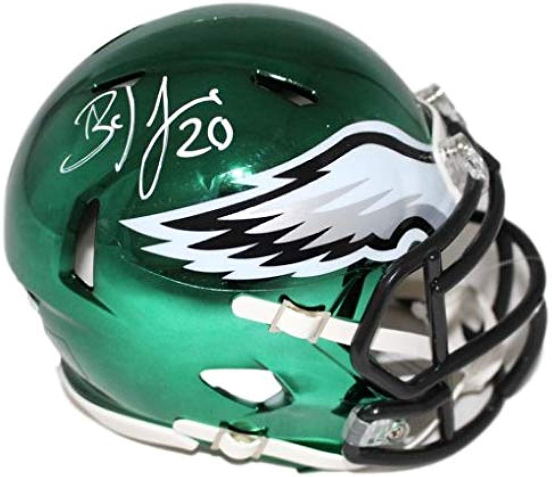 Brian Dawkins Autographed Philadelphia Eagles Chrome Mini Helmet JSA