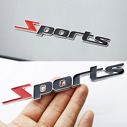 YSHtanj Externe Decoratie Sticker Mode 3D Metaal Sport Logo Auto Truck Decor Patroon Badge Universele Sticker