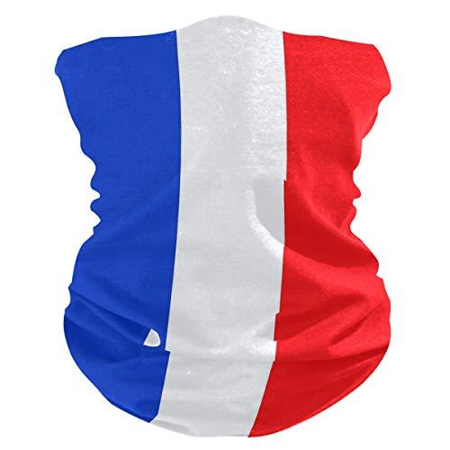 French Flag Face Mask / Neck Gaiter