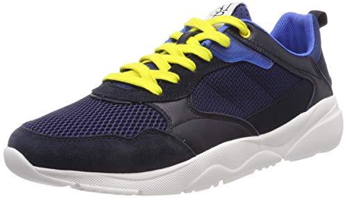 Marc O'Polo Herren Sneaker, Blau (Navy 890), 42 EU