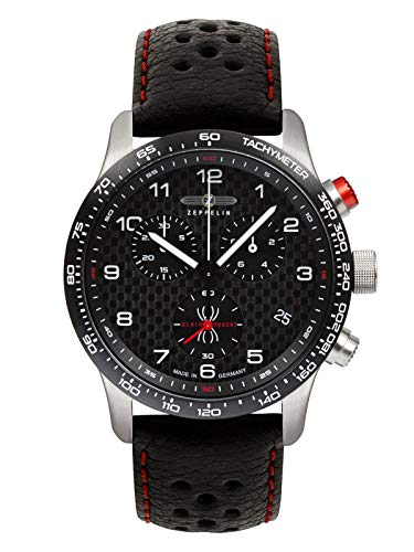 Zeppelin Herren-Uhren Analog Quarz One Size 87885216