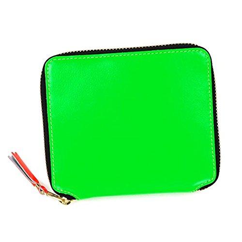 (コム・デ・ギャルソン) COMME des GAR ONS 二つ折財布 小銭入付 #SA2100SF GREEN 並行輸入品
