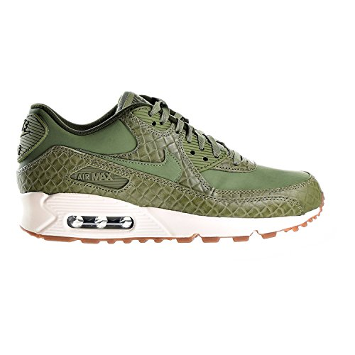 NIKE Women's Air Max 90 Prem Green Leather Running Shoes 6