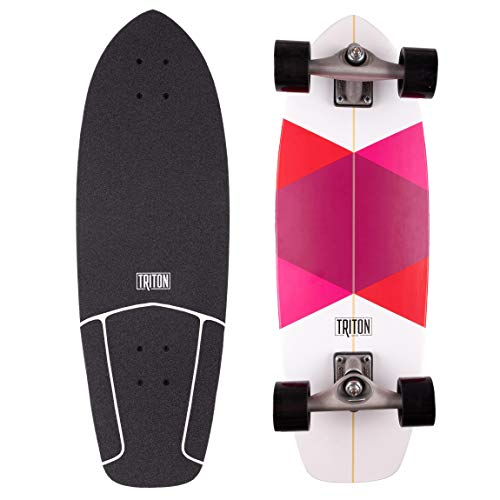 Carver Triton Red Diamond Compleet Skateboard 29 inch CX