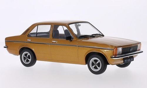 Opel Kadett C Limousine, gold, Modellauto, Fertigmodell, Triple 9 Collection 1:18