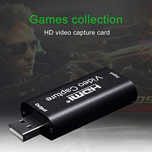 Audio Video Capture Cards For High Definition Acquisition Live Broadcasting HDMI To USB 1080p USB2.0 Record Via DSLR Camcorder Camera