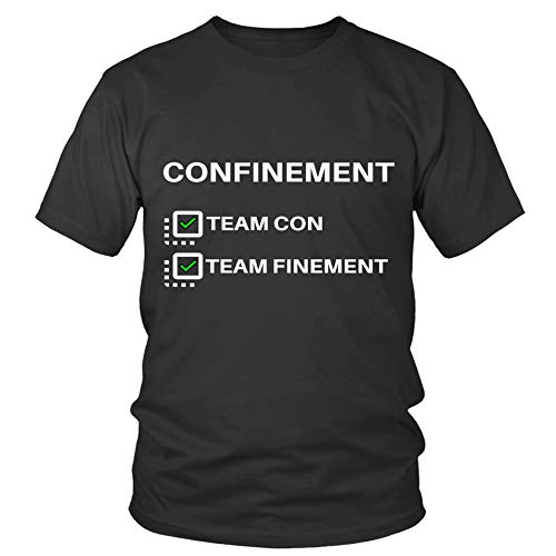 Edition Spciale-Suite Confinement Córonavirus Team Con Team T-Shirts New Style Shirt For Girls Hot Fashionable The Best T-Shirt Customize T-Shirt