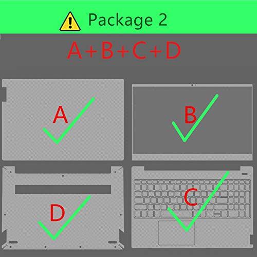 Hopereo - Adhesivo para portátil Lenovo para Miix 310, 320 y 325 Piel a B C D Miix 2 10