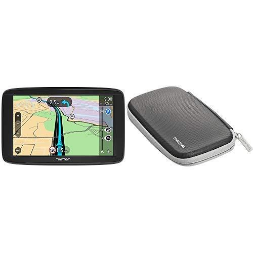 """TomTom Start 62 Europa 48 GPS per Auto, Display da 6"""", Mappe a Vita, Indicatore di Corsia Avanzato, + TomTom Protective Case - navigator cases"""