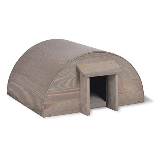 CKB Ltd Hedgehog House Maison Hérisson Quartiers d'hiver d'entrée, Habitation pour les Hérissons Jardin - en bois - Peut également être utilisé pour la connexion à l'hibernation