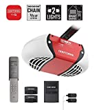 Best Garage Door Openers - Craftsman CMXEOCG471 Garage Door Opener, Red Review