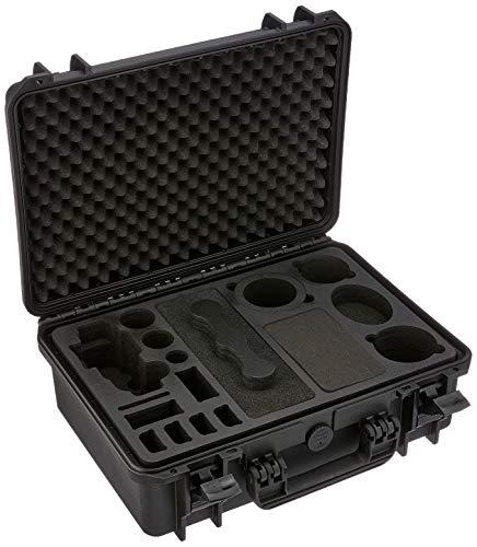 Custodia da trasporto professionale per Panasonic Lumix GH5 - con ampio spazio per accessori come 3 obiettivi, 5 batterie, vari cavi e adattatori e molto altro – MC-CASE