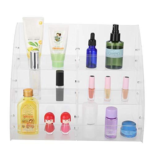 Transparante acryl vitrinehouder vitrinestandaard nagellak organizer make-up tafel detailhandel vitrine cosmeticawinkel zoetwaren waren rek voor make-up en cosmeticadisplay