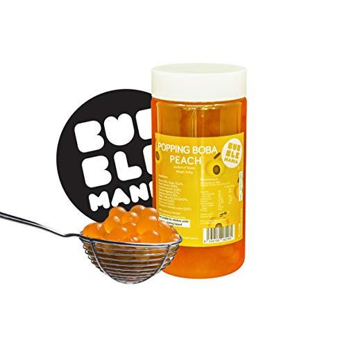 Popping bobas para Bubble tea Té de burbujas de Melocotón (450 g)