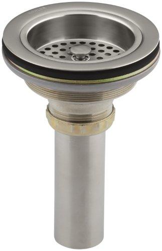 KOHLER K-8801-VS Duostrainer Sink Strainer, Vibrant Stainless, 1.5